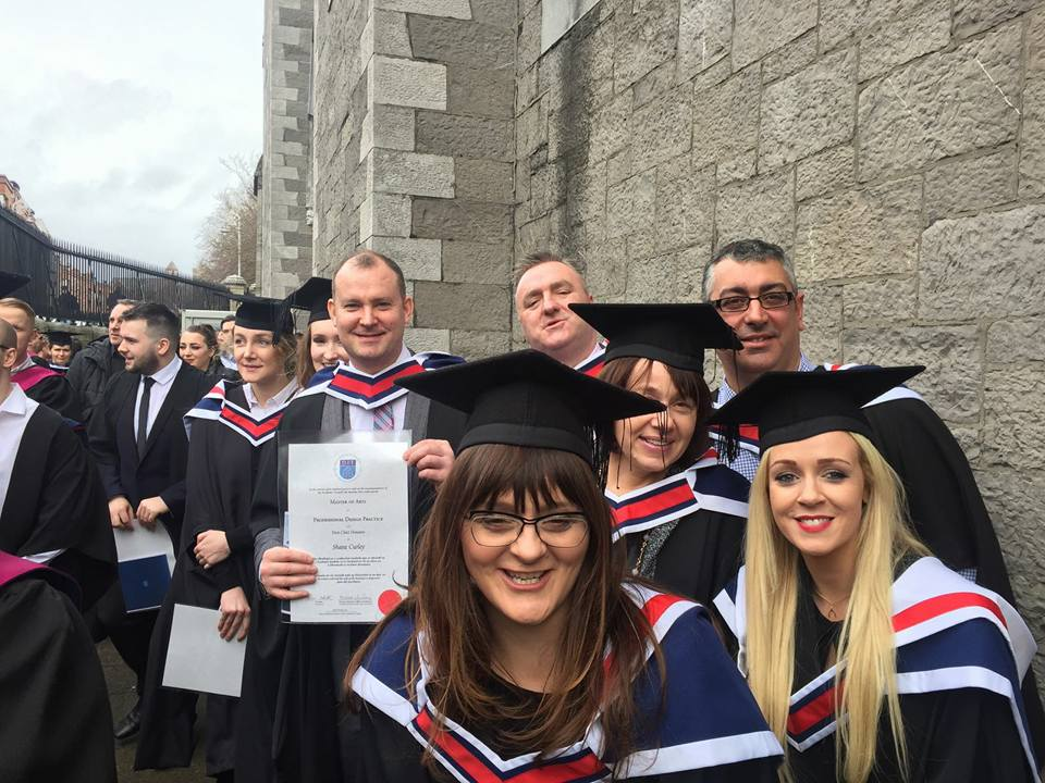 Masters in Professional Practice design and print - Graduating class 3017