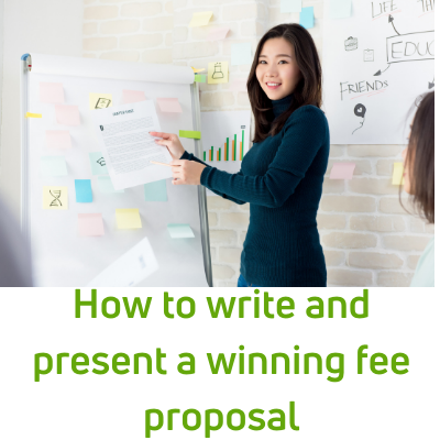 how to write and present a winning fee proposal